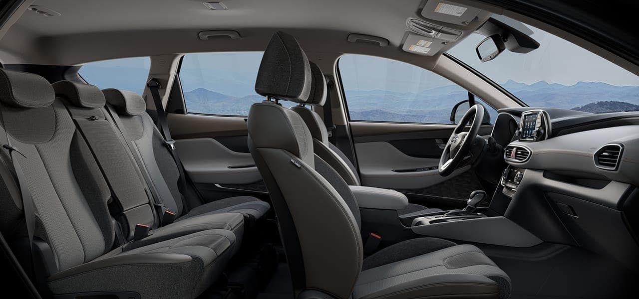 Awesome 2019 Hyundai Santa Fe Limited Interior Colors And