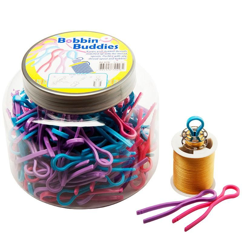 Set of 3 Bobbin Buddies Assorted Colors
