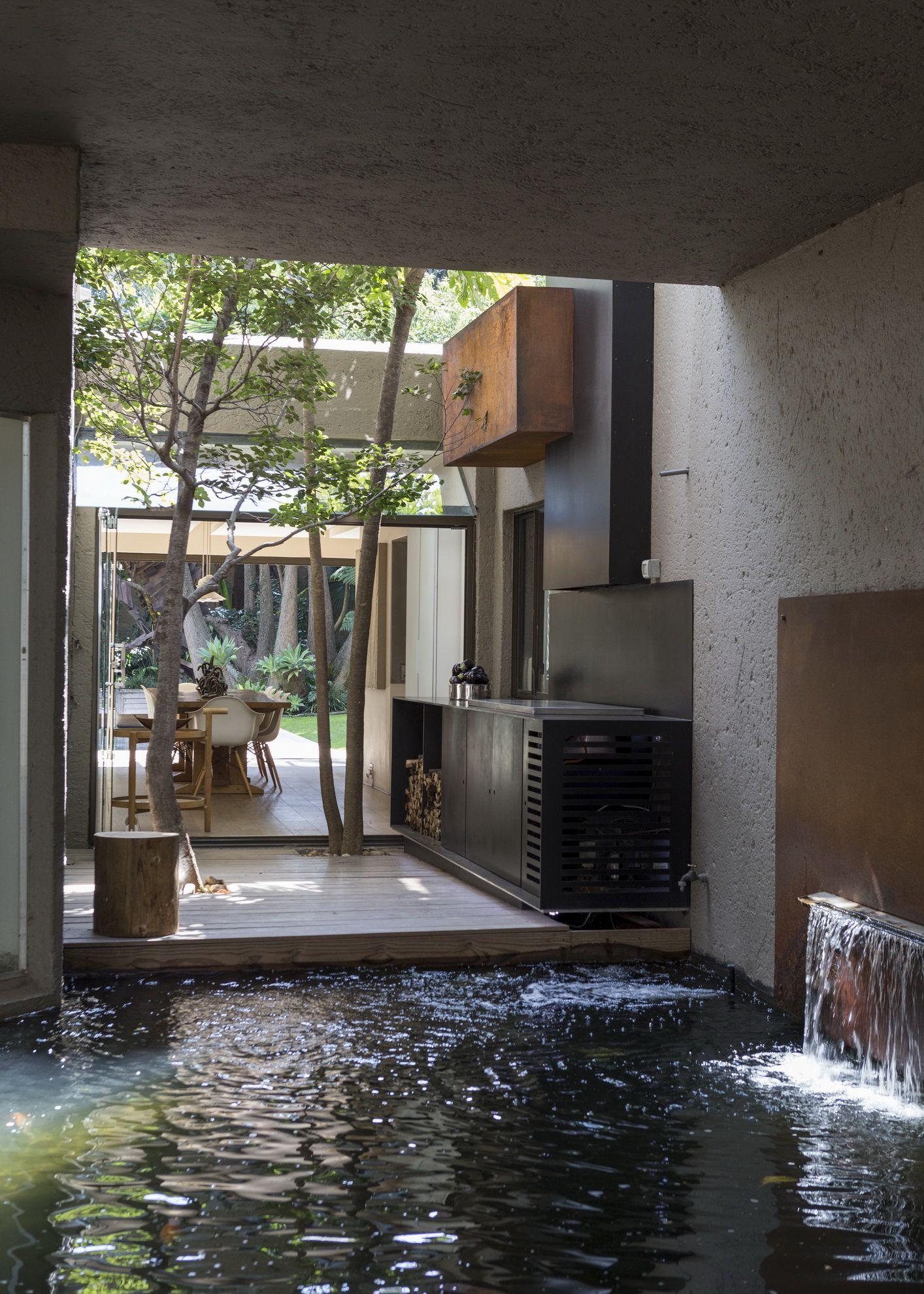 House Fern Indoor Outdoor Nico Van Der Meulen Architects Design Architecture