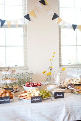 simple brunch baby shower