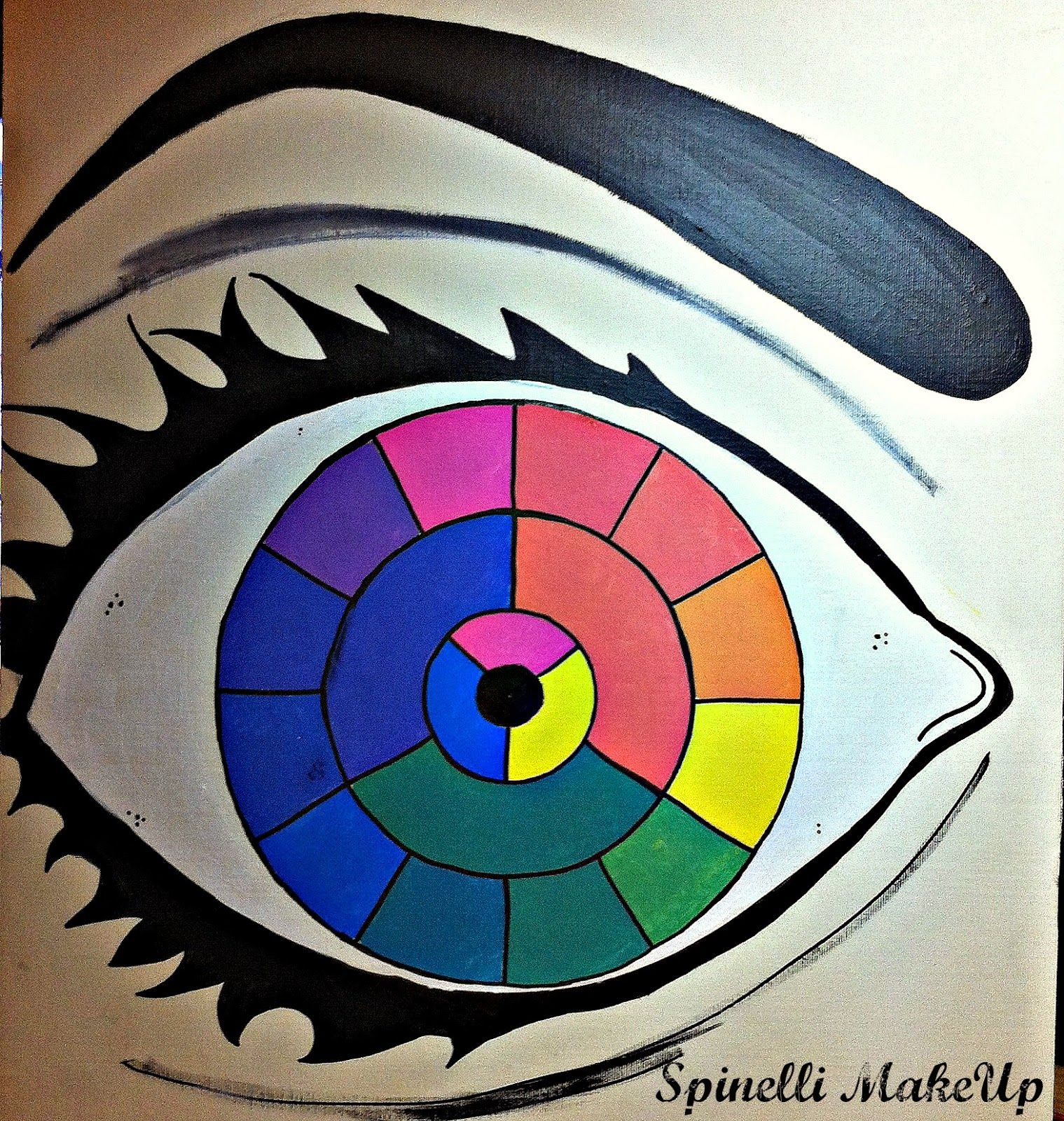 Spinelli Makeup Colores Calidos Y Frios Colores Calidos Y Frios Dibujos Calidos Y Frios Colores Calidos