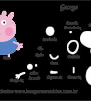 Molde Silicone Peppa Pig - MA-112