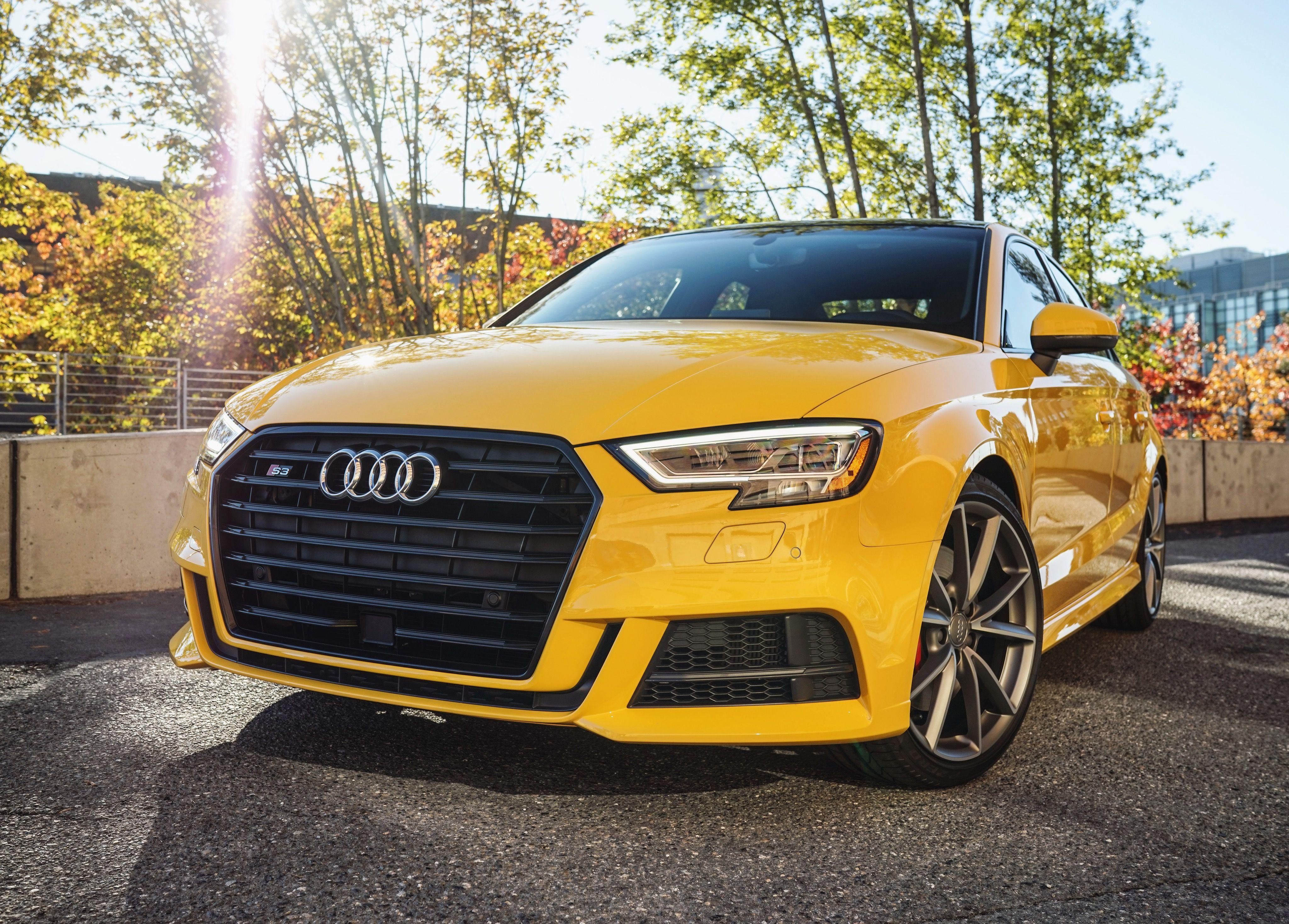 Feeling Lucky Vegas Yellow Audi S3 Audi Cars Audi Luxury Car Dealership