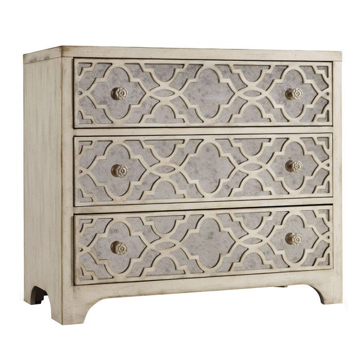 Shop For Hooker Furniture Sanctuary Fretwork Chest Pearl Essence, And Other  Living Room Chests At Tuskers Furniture In Miramar Beach, FL.