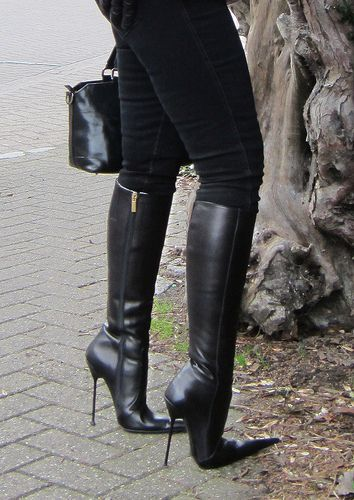 Stiletto Boots by RoSa Shoes