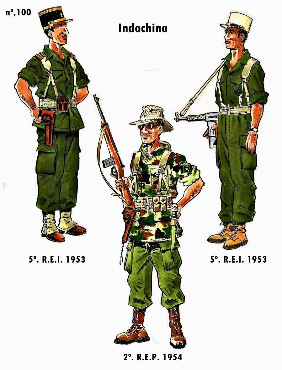 Epingle Sur Uniformes De L Armee Francaise