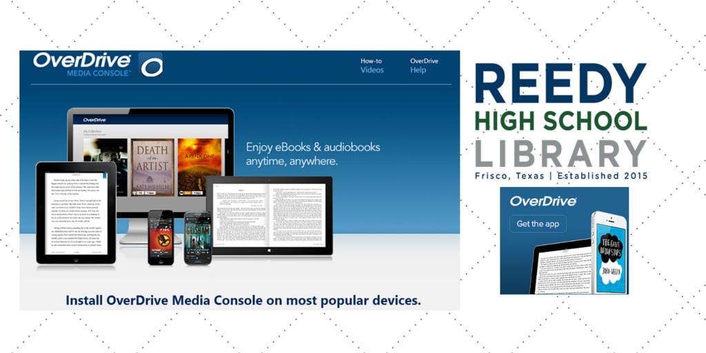 Overdrive for ReedyLibrary Ebooks, Audiobooks, Frisco isd