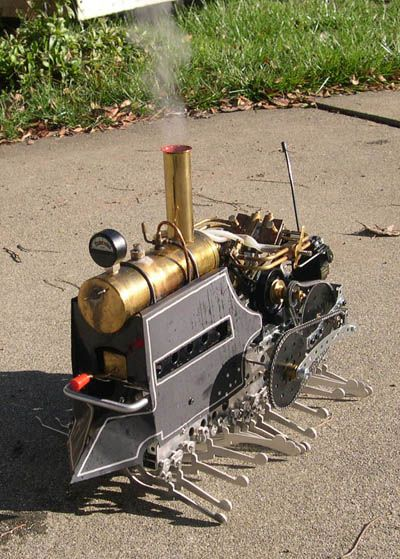 `.Steam Centipede by CrabFu Steamworks.