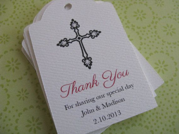 Wedding Favor Tag Personalized Gift Tags Or By Sandpiperpress Wedding Gift Favors Diy Wedding Favors Personalized Baptism Favors