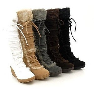 602468e33b0 suede winter boots for women