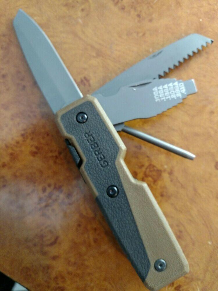 Vintage Gerber Tape Measure Multi Tools Knife Gerber Multi Tool Knife Gerber Knives Multitool