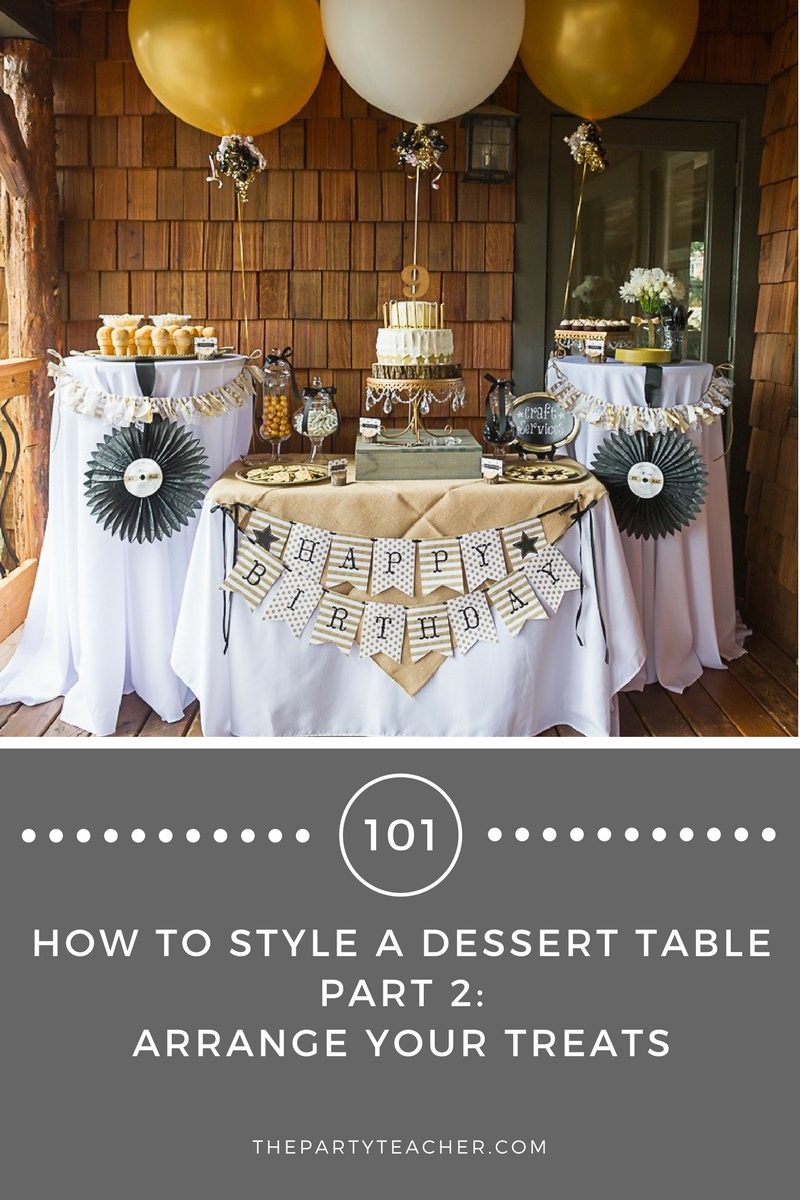 Dessert Tables 101 How to Arrange Your Treats Dessert table and