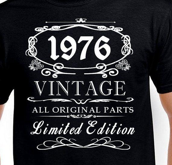 Birthday For 40 Yrs Old Men 40th Birthday Gift T Shirt