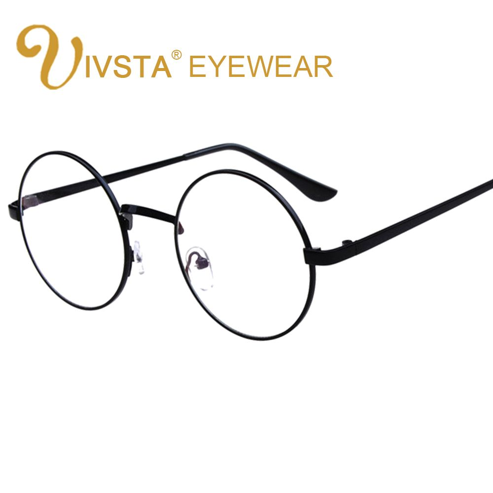 IVSTA Vintage Round Glasses Men Harry Potter Glasses Frame ...
