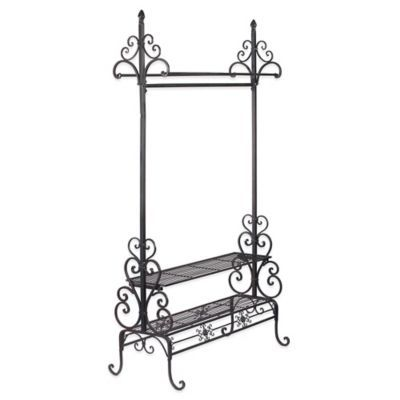 Buy Decorative Metal Garment Floor Rack from Bed Bath & Beyond