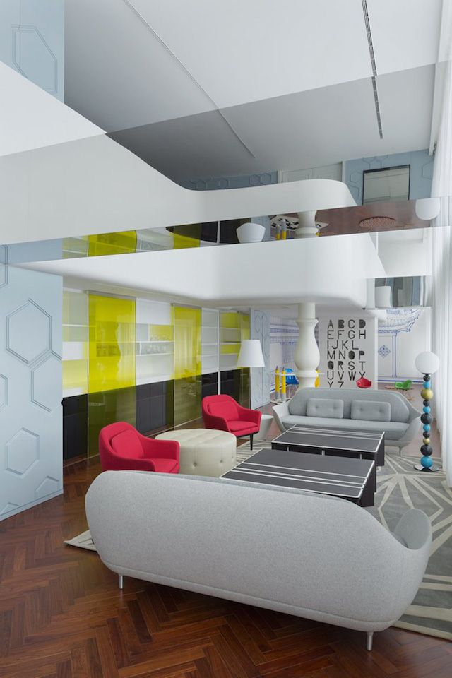super happy place dariel studio has imagined the beijing fantasy penthouse in china