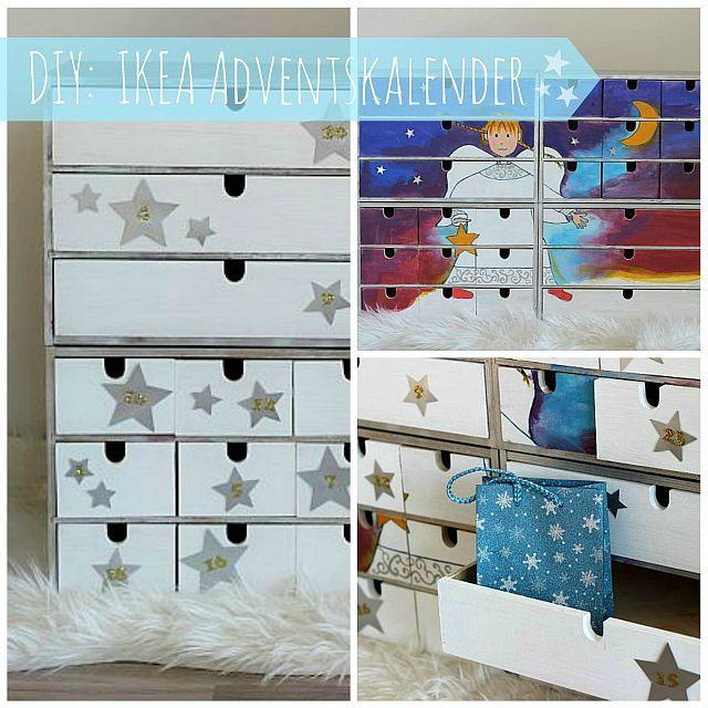 diy ikea moppe adventskalender piccole cassettiere pinterest craft. Black Bedroom Furniture Sets. Home Design Ideas