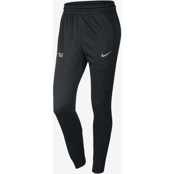 Nike Womens Basketball Pants - Nike Elite Cuff Anthracite/Metallic Silver N89h1893