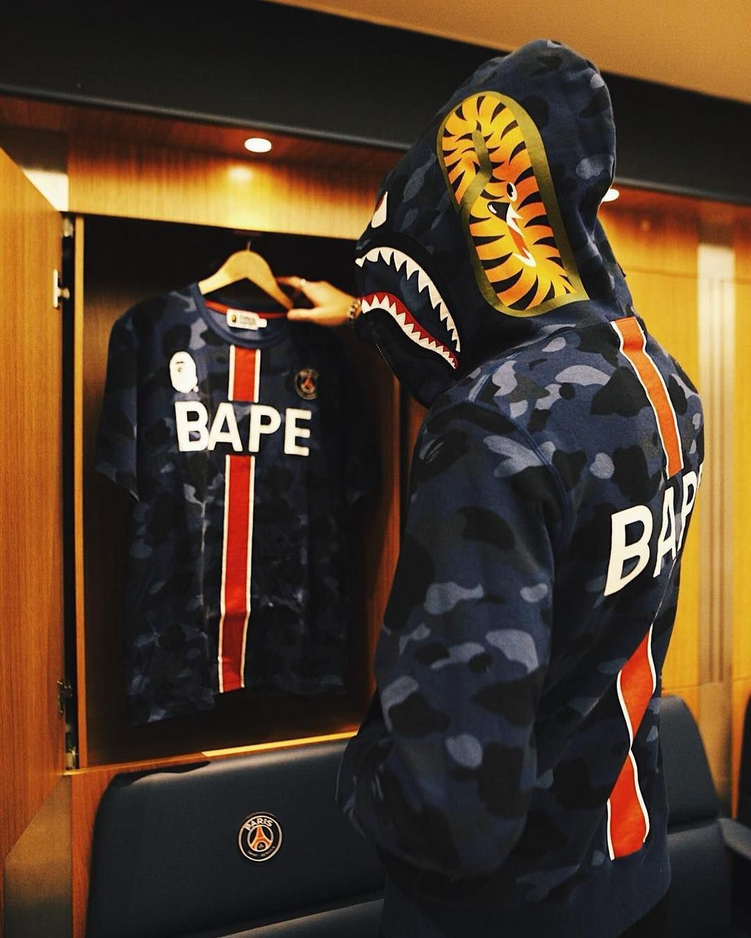 Following multiple teasers, BAPE shares official imagery of