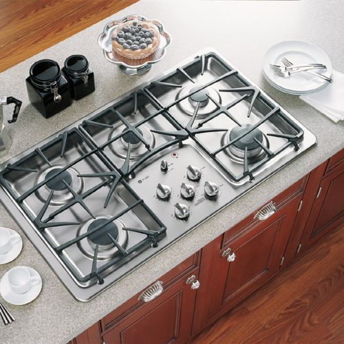 GE profile 36 in 5 burner gas cook top Kitchen stove