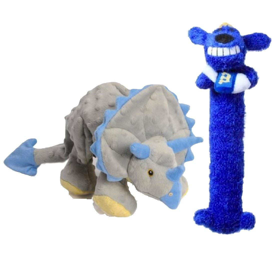 Triceratops And Multipet Loofa Hanukkah Dog Toy Set Learn More