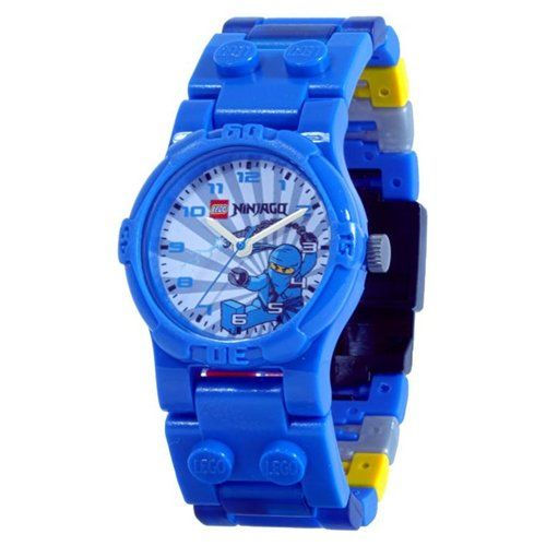 92922efb305 LEGO Ninjago Jay Watch with Mini-figure I want it so bad XD