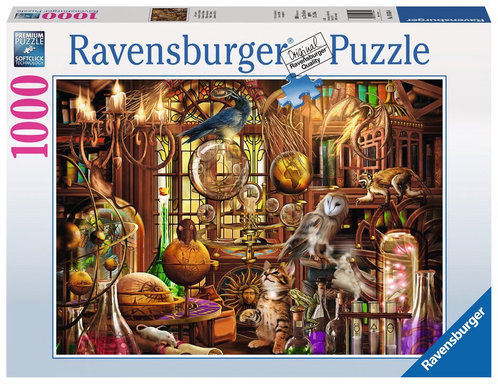 Merlin S Laboratory Adult Puzzles Jigsaw Puzzles Products Merlin S Laboratory Ravensburger Jigsaw Puzzles Ravensburger Puzzle