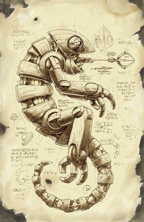 deleter screen tone art - Google Search robots Pinterest Art - new robot blueprint vector art