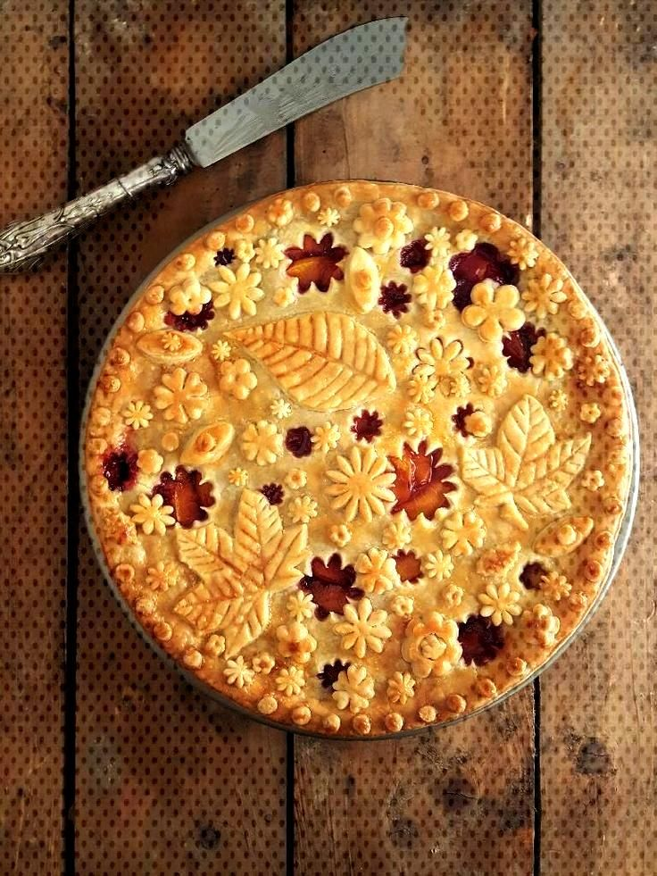This is a new entry from December 1, 2017 In recent times the decoration of pies... -