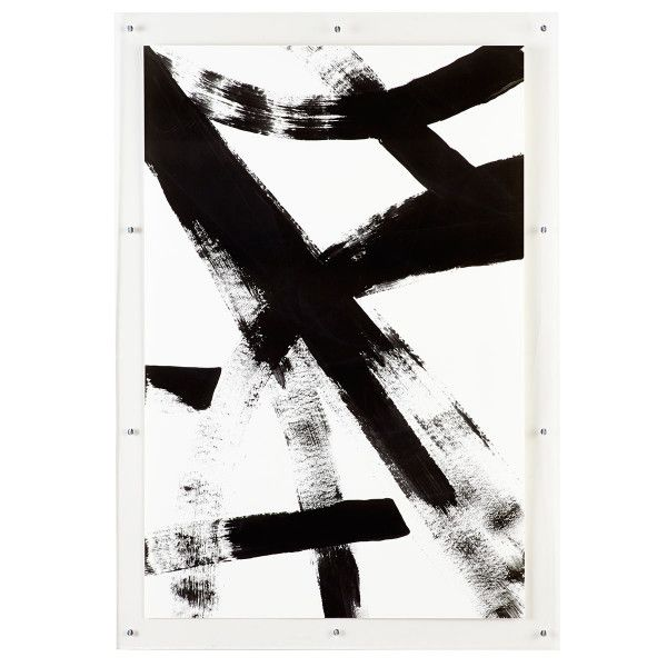 Black and white abstract art a history lesson franz kline inspired