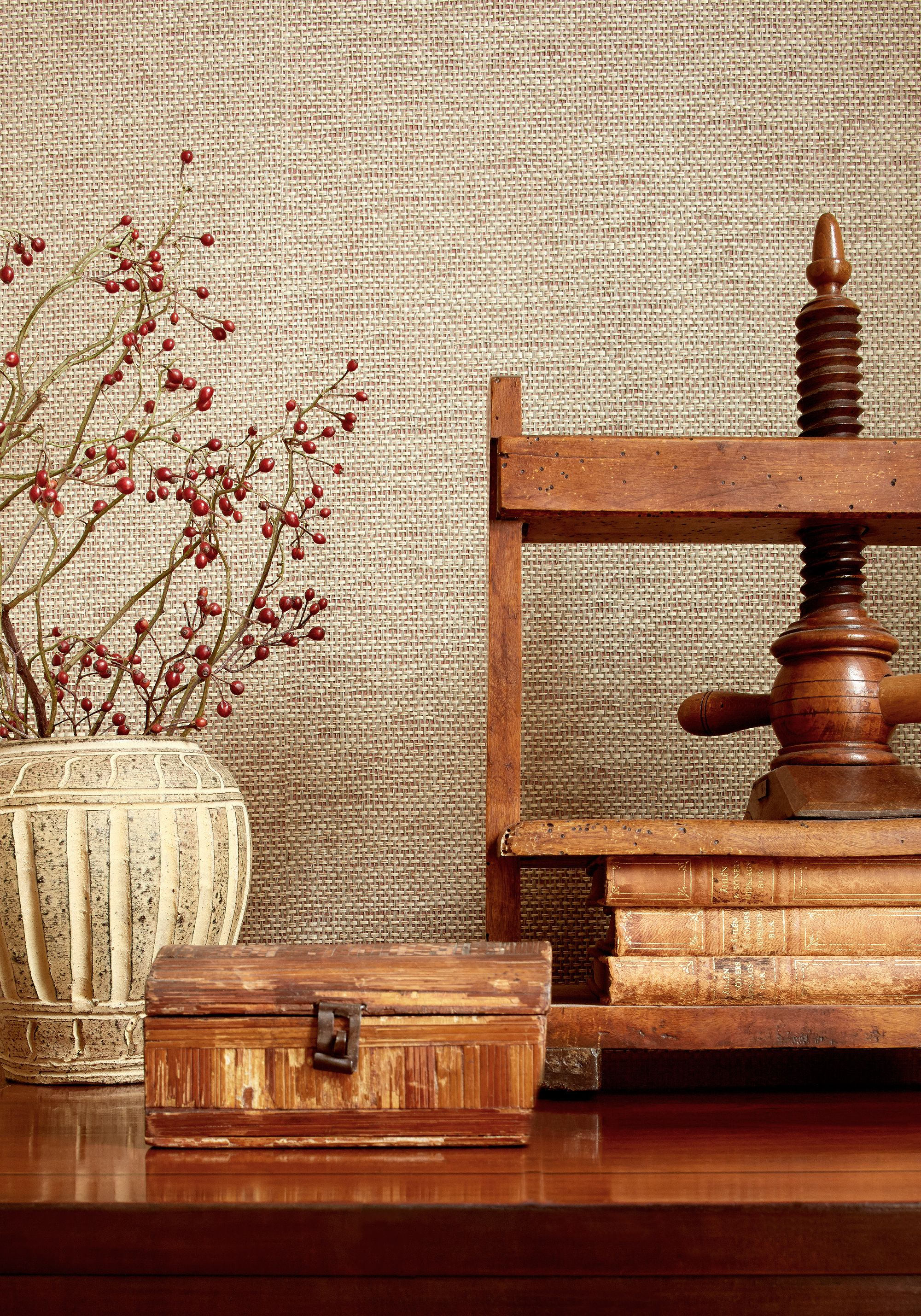 Adriatic #Grasscloth #Wallpaper In #Flax From The Grasscloth Resource 3