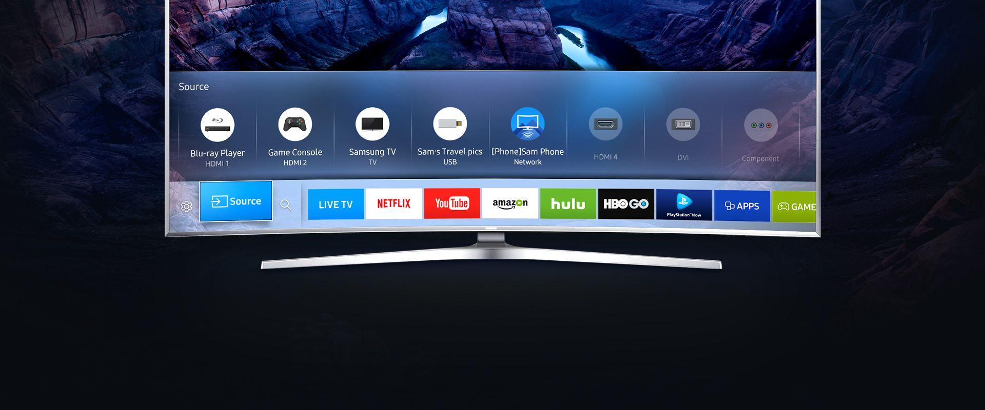 Minden tartalom megtekintése a Samsung Smart TVről