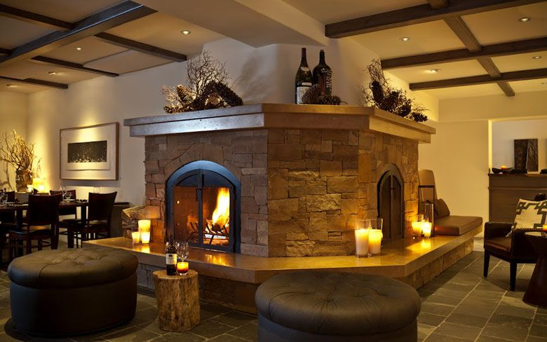 Photos Our Sun Valley Inn Indoor Outdoor Fireplaces Fireplace