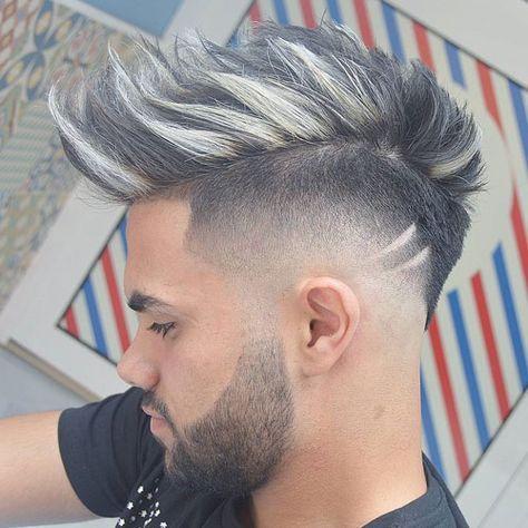 Coupe de cheveux homme 2018 couleur