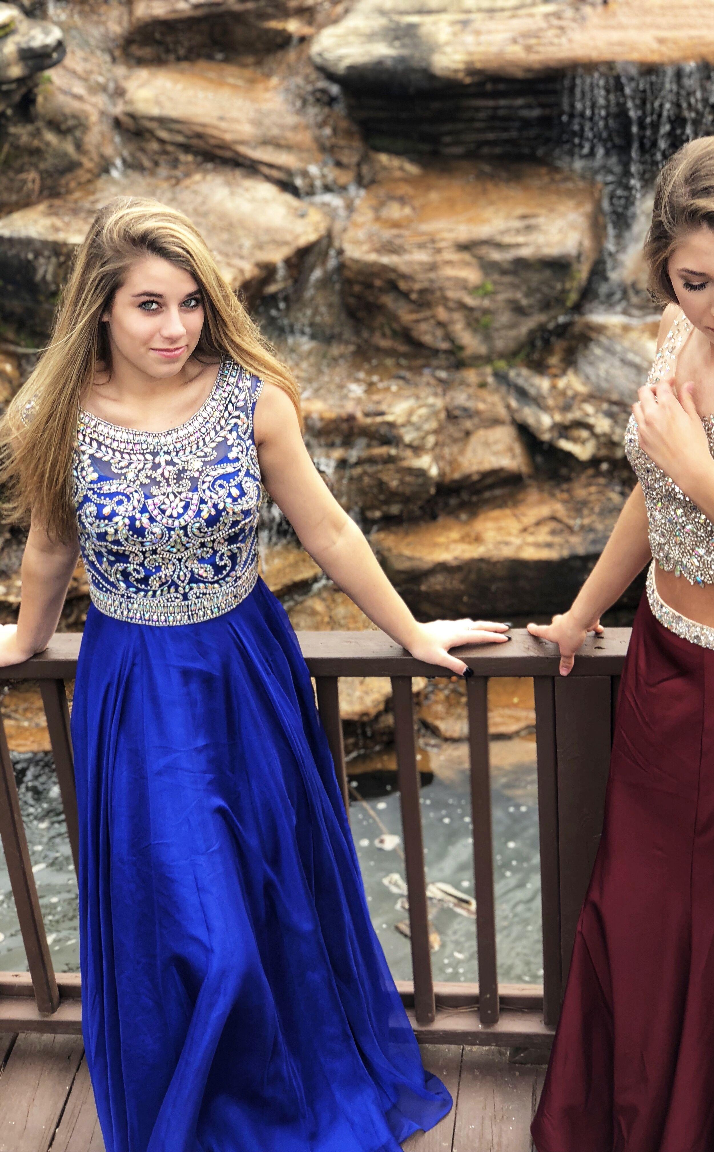 Blue Prom Dress Amiesbridal Georgia Prom Prom2018 Northgeorgia