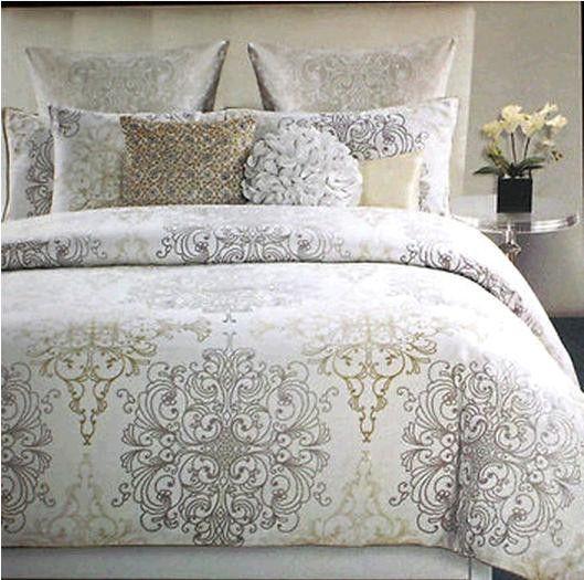 Tahari Zaha Bedding: Tahari Medallion Scroll Comforter Set
