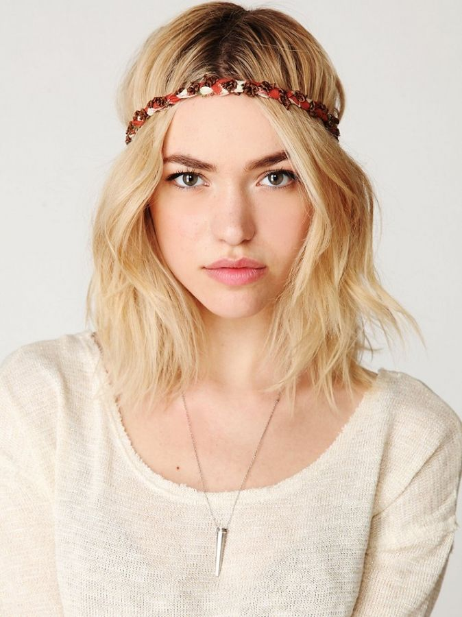 Boho Hair Make The Hottest Free People Boho Chic Hair Accessories
