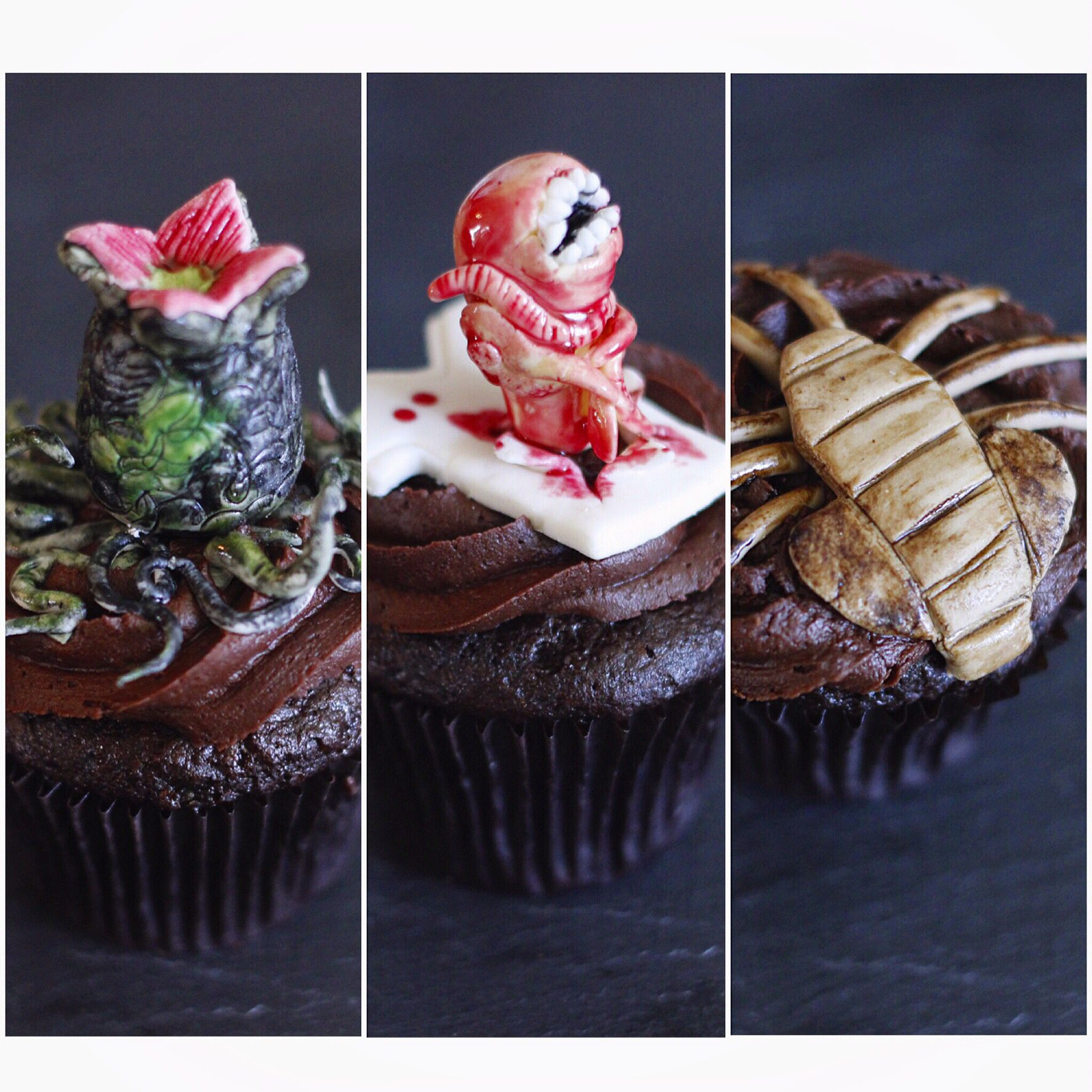 Alien Movie Themed Cupcakes All Vegan Gluten Free Dairy Free Soy Free Non Gmo Naturally Dyed Dairy Free Food Soy Free