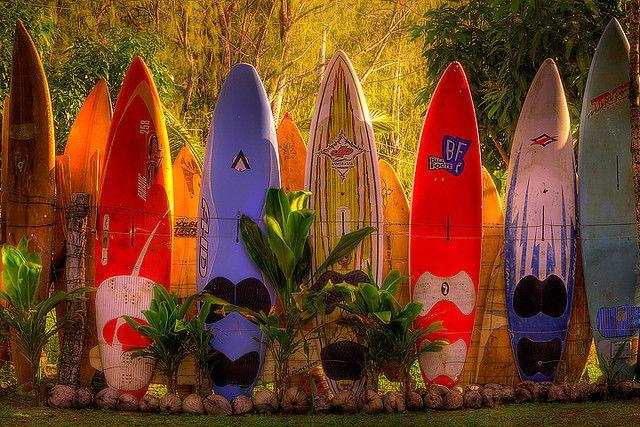 Maui Dreams Surfboard Fence Maui Hawaii Maui Hawaii Surfboard Surfboard Wall Art