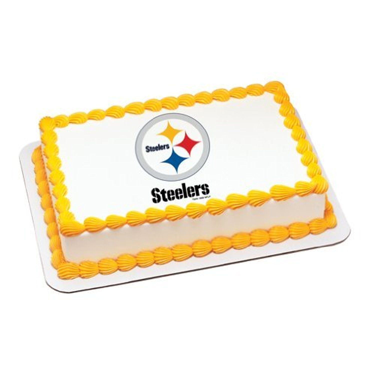NFL Pittsburgh Steelers ~ Edible Cake Image Topper by Oasis Supply ...