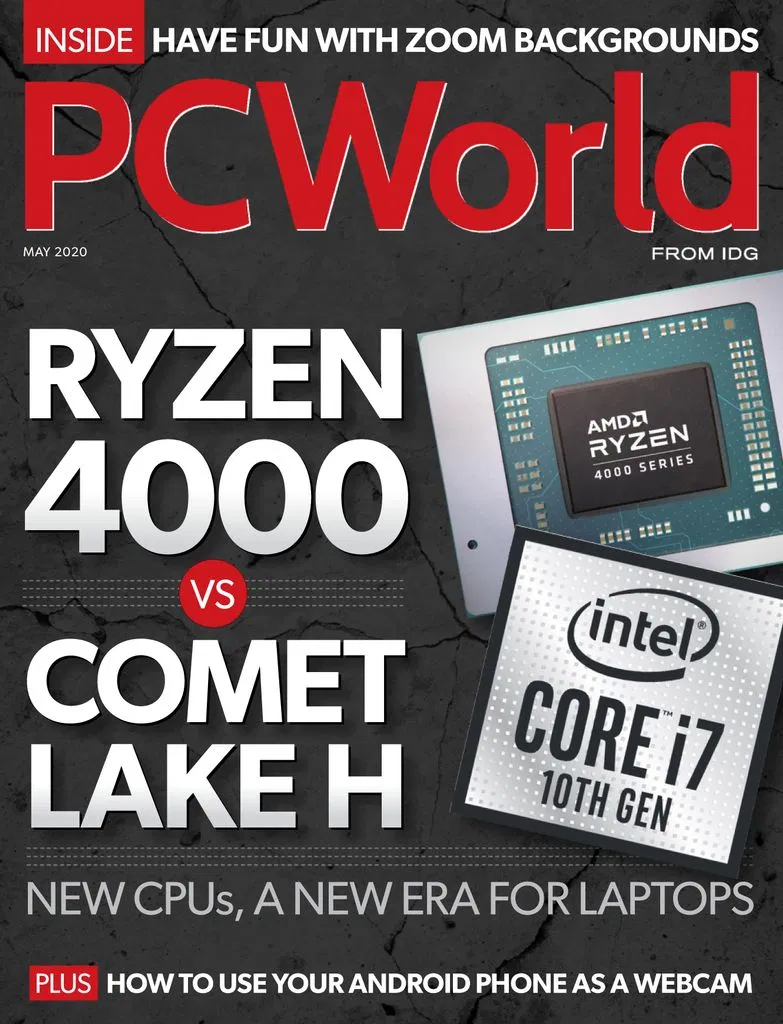 Pcworld May 2020 Free For Book Tech Magazines Books Home Network