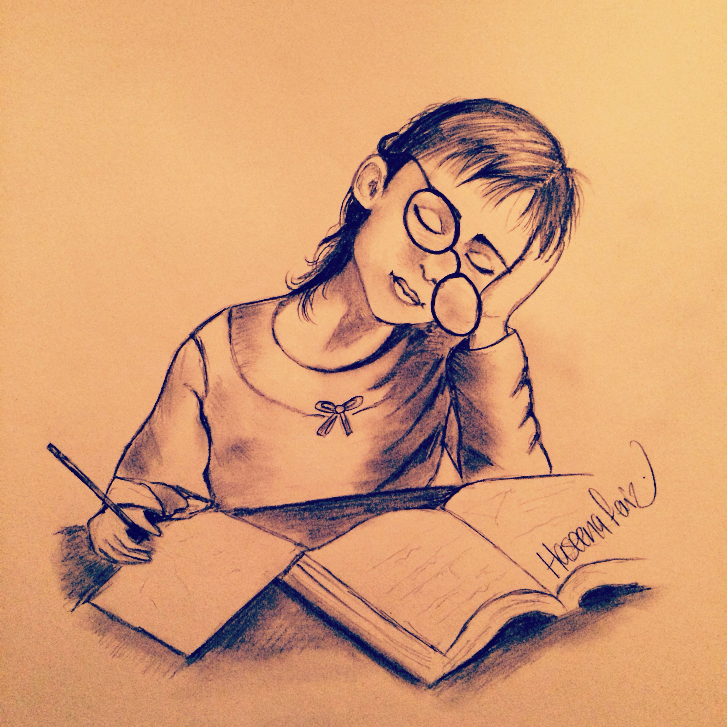 Drawing art work study time finals drawing by haseena faiz drawing art work study time finals drawing by haseena faiz thecheapjerseys Gallery