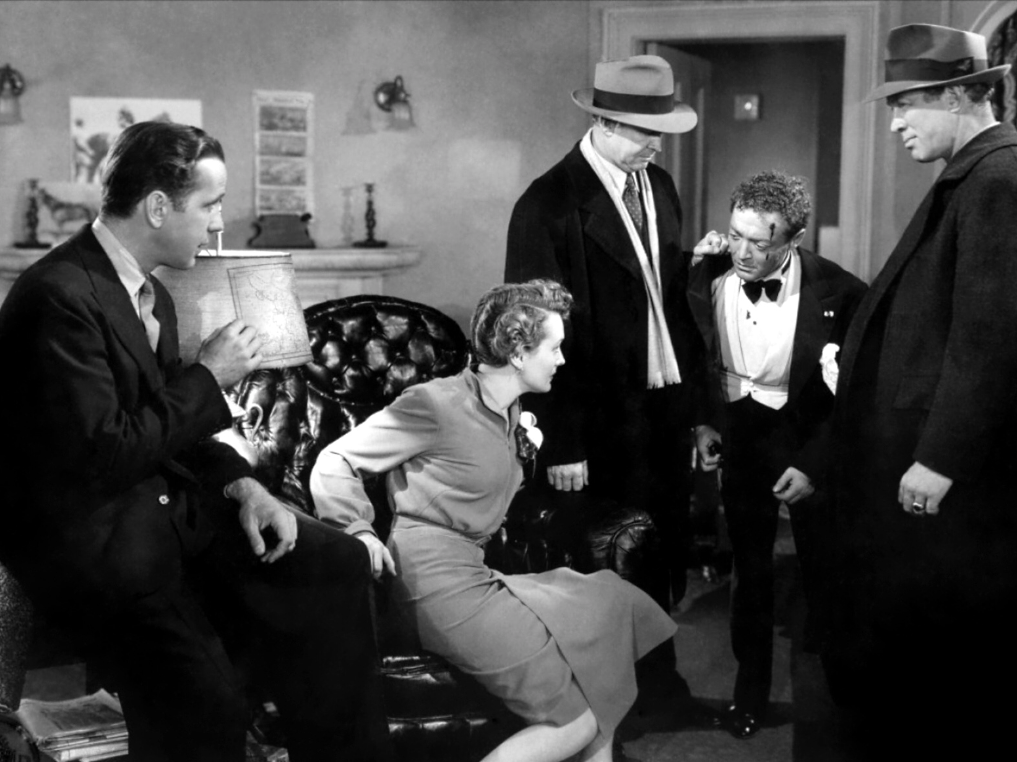 Humphrey Bogart, Mary Astor, Barton MacLane, Peter Lorre