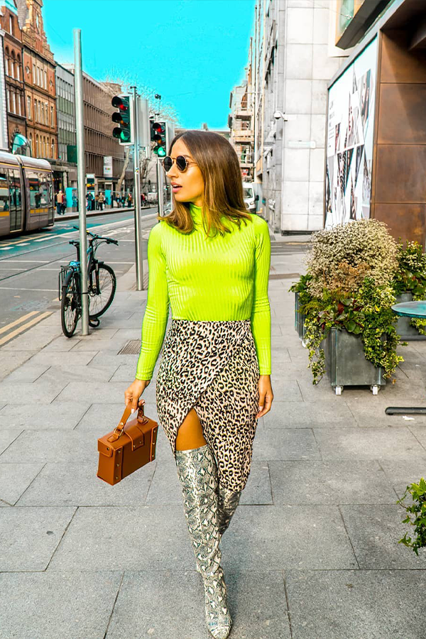 Celebrity Inspired Neon Green Outfits | Neon outfits, Neon dresses, Fashion