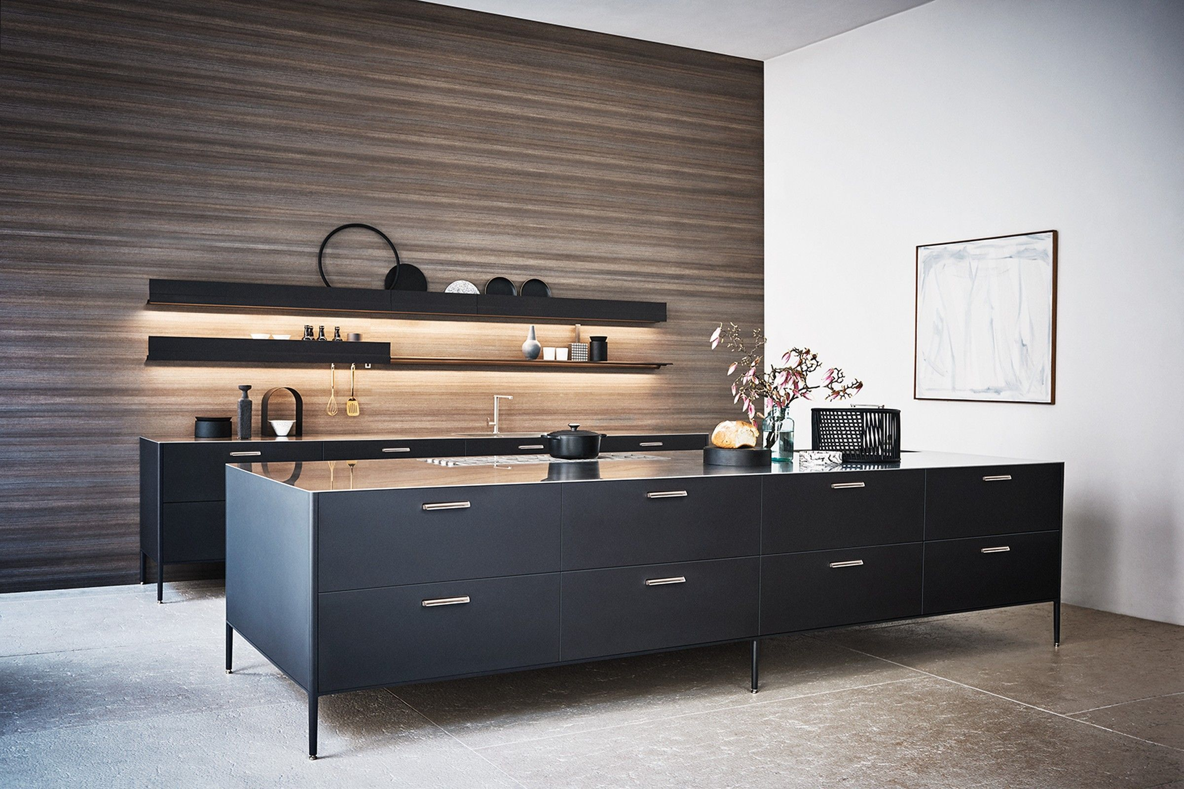 The cesar new york showroom presents a luxury selection of