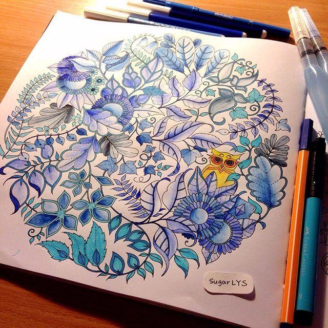 Image Result For Owl Mandala Enchanted Forest