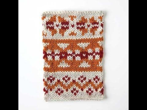 Making a Fair Isle Knitting Chart Online- this would have made my ...