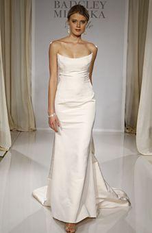 Trendy Badgley Mischka wedding dress Carrie Bradshaw Sex in the City