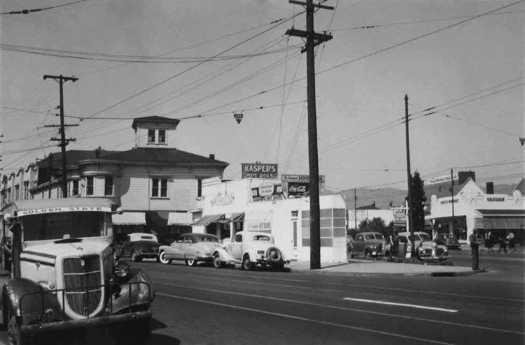 Kasper S Hotdogs Oakland California Old Pictures East Bay