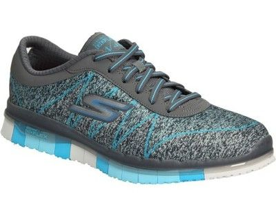 Hit Buty Sportowe Szare Turkusowe Skechers 14011 5998466454 Oficjalne Archiwum Allegro Shoes Sketchers Sneakers Sneakers